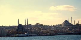 Mezquitas desde el Bósforo