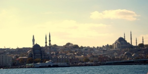 Mosques from the Bosphorus