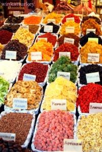 Frutas secas variadas