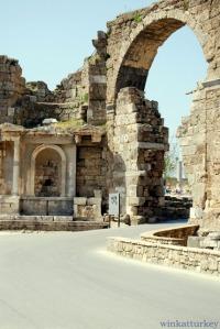 Puerta de entrada a Side