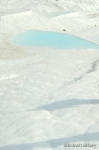 Detalle piscina en Pamukkale