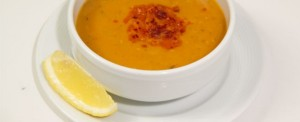 "Red lentil soup ""Mercimek Corbasi"""