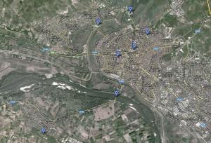 Map Edirne