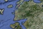 Mapa Norte delEgeo