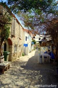 Calle del pueblo.