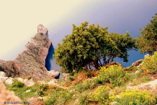 Vista desde el castillo de Alanya