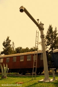 Museo del ferrocarril en Izmir