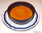 "Ezogelin Çorbası ""Sopa de lentejas rojas, arroz ybulgur"""