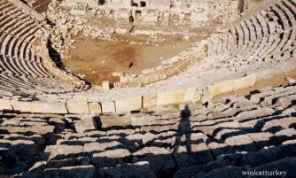Teatro de la ciudad de Patara