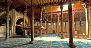 Inteerior Mosque Esreoglu