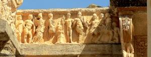 Detalle del templo de Hadriano