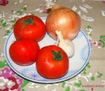 tomates, cebollas yajo