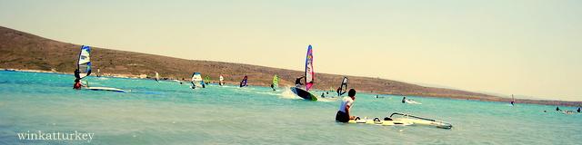 Considerado para muchos el paraíso del windsurf