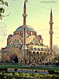 Mezquita en Eskisehir