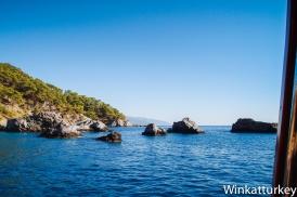 Viaje en barco por la Bahía de Ölüdeniz