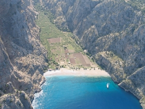 Oludeniz. Butterfly Valley.