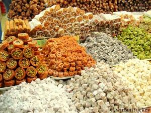 lokum, delicias turcas.
