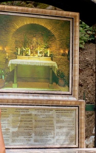 Image of the interior of the house of the Virgin