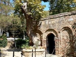 Entrance to the house of the Virgin
