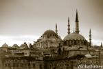 Rüstem Paşa con Suleymaniye alfondo