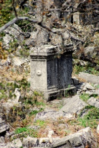 Remains of the city of Termessos