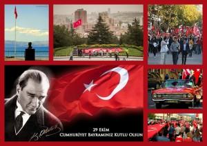 Imagenes del día de la República turca