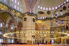 Suleymaniye interior