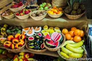 Jabones con forma de fruta
