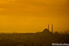 Puesta de sol en Fatih