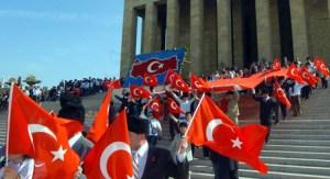 Día de los niños en el Mausoleo de Atatürk
