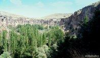 Vista general del valle de Ihlara